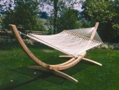 Roman Arc Hammock Stands