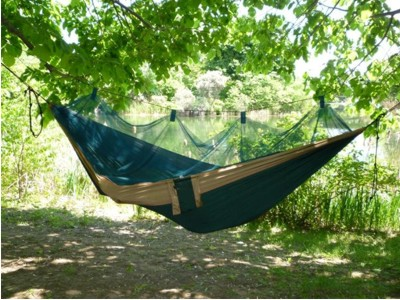 Adventurer Camping Hammock with Mosquito Netting