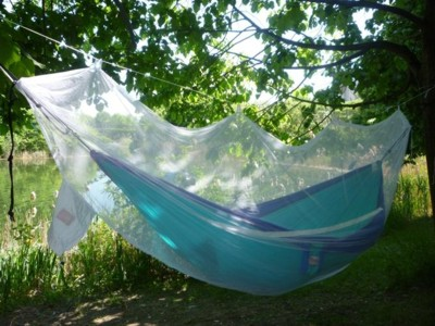 Full-Surround Mosquito Net for Camping Hammocks