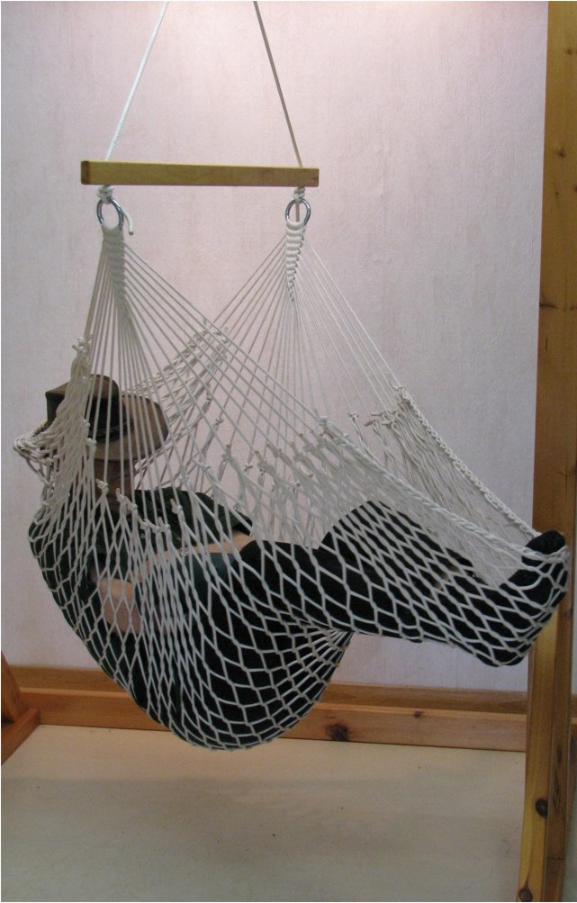 Bougainville Deluxe Rope Hammock Lounger