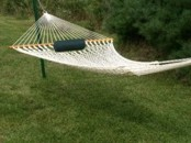 deluxe one-bar rope hammocks by Bougainville