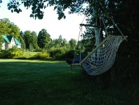 Deluxe Bougainville hammock chair