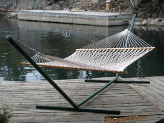 Hampton Head deluxe rope hammock