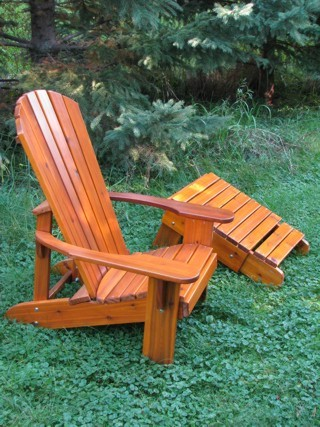 Muskoka Chair nicely finished