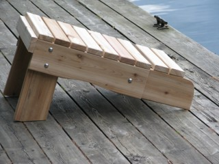 Muskoka Side Table Foot Rest